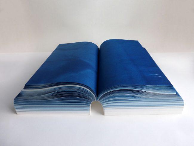 Sietske Boer Design Ontwerp book HKU cyanotype