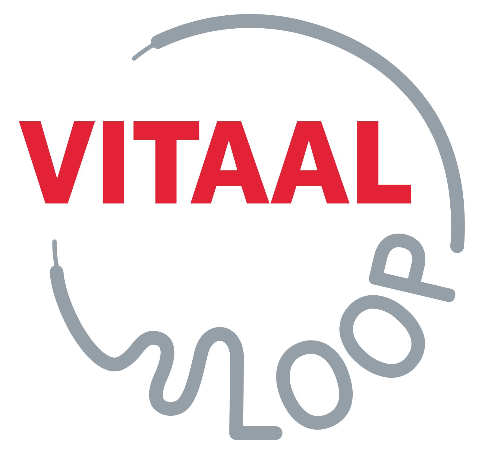 logo vitaalloop ontwerp grafisch